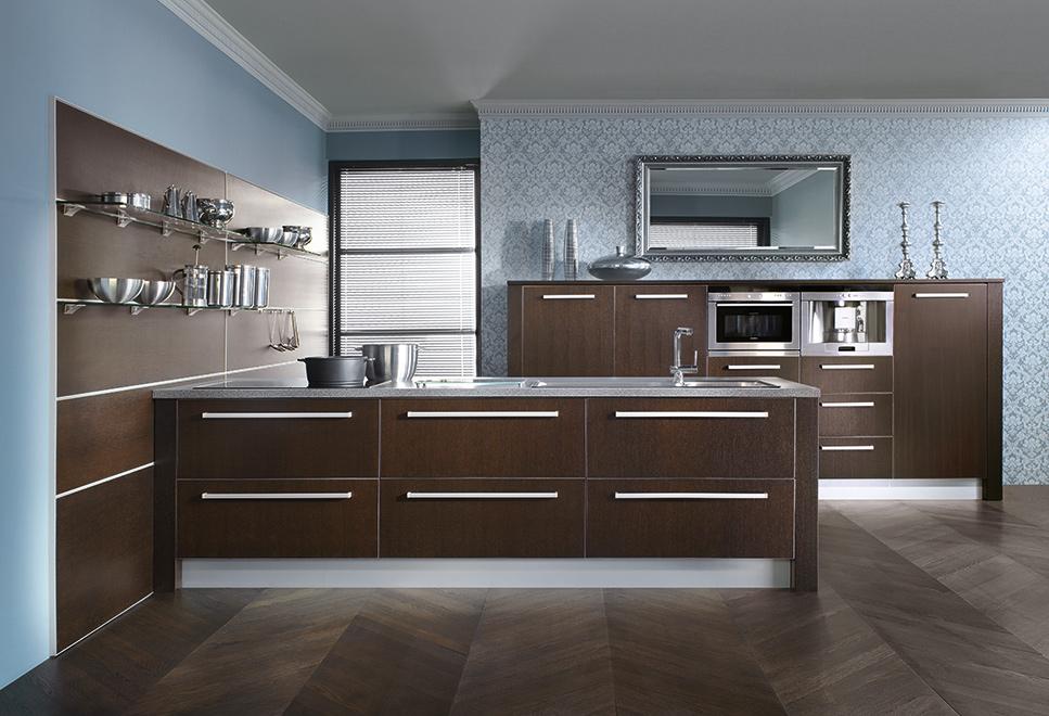 Octavia wenge atlas kitchens for Wenge kitchen designs